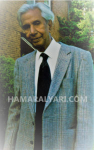 Mr. Razak Ansari (Dr. Ansari's Dad)