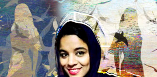 Uzma, artist and singer from Lyari