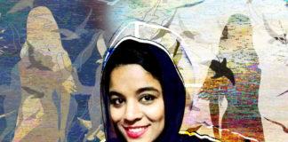 Uzma, artist and singer from Lyari