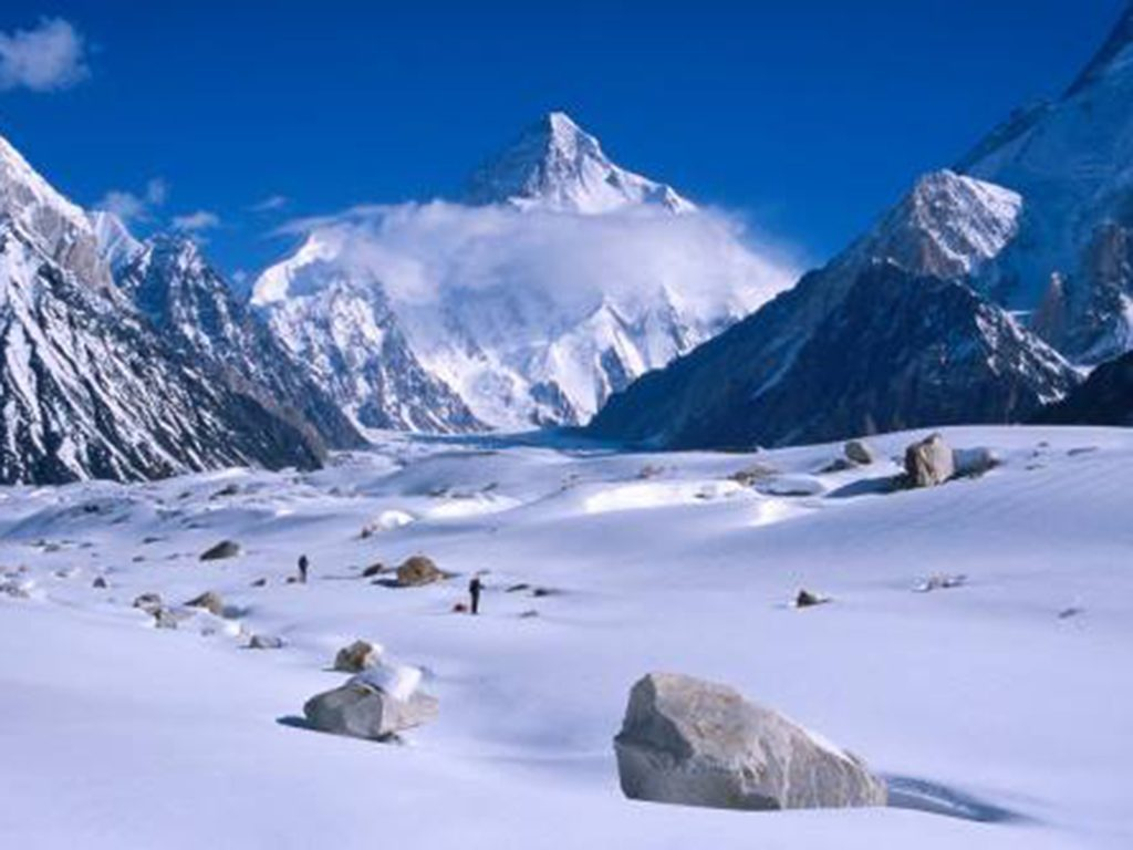 K2 the highest peak of Pakistan