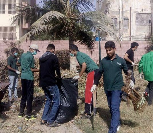 Clean Karachi, Lyari YOuth, cleanliness, initiative