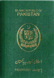 Pakistani passport, green passport