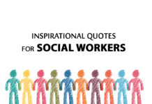 social workers. inspirational quotes