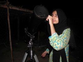 girl with vision, Lyari girl, sama, astrophysicist,