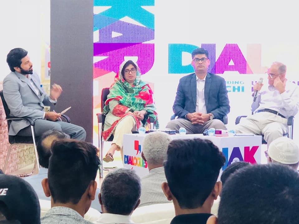 I am Karachi, Lyari, dialogue session, karachi
