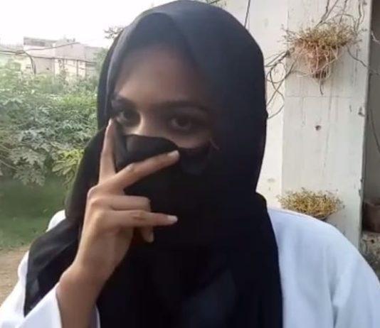 woman jumps of, karachi