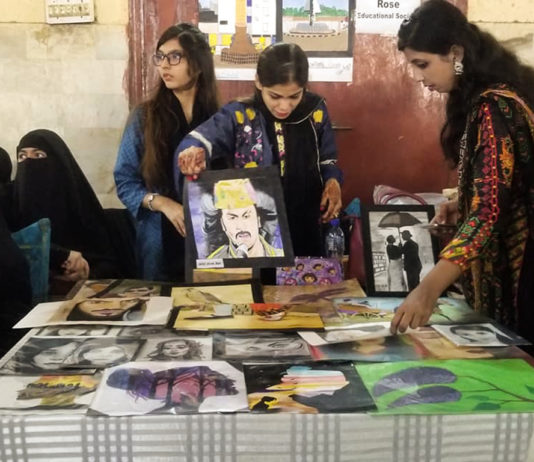 art exhibition, creative lyari