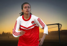 female football player, female footballer lyari, maikan wahid baloch,