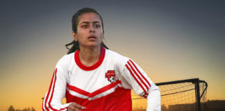 female football player, female footballer lyari, maikan wahid baloch,